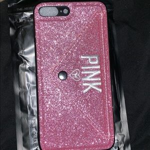 iPhone 7 Plus 8 plus PINK Cellphone Case pink